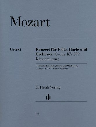 Mozart Concerto C major K. 299  for Flute, Harp and Orchestra