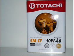 TotachiLong Life Semi-Synthetic CI-4 10W-40, 4л