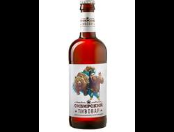 Пиво Сибирский Пивовар 0,5 л, 1 бут.
