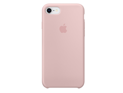 Клип-кейс Apple Silicone Case для iPhone 7/8 (розовый песок)