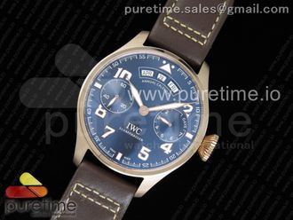 Big Pilot Real Annual Calendar Real PR SS IW502703 Blue