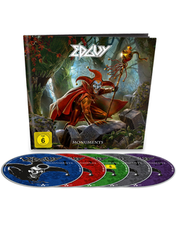 EDGUY Monuments EARBOOK 4CD+DVD