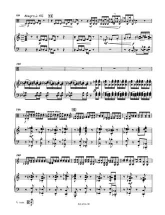 Martinu  Rhapsody - Concerto for Viola and Orchestra (Piano Reduction)