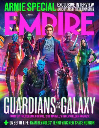 EMPIRE Magazine May 2017 Guardians Of The Galaxy Cover ИНОСТРАННЫЕ ЖУРНАЛЫ О КИНО, INTPRESSSHOP