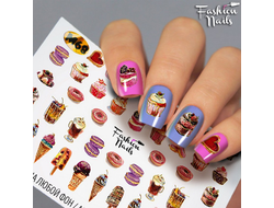 Слайдер дизайн Fashion Nails M68