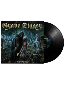 Grave Digger - The living dead LP