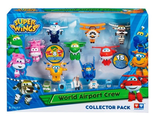 Super Wings Auldey Набор «Команда Аэропорта» 8 мини-трансформеров и 7 фигурок, YW710640