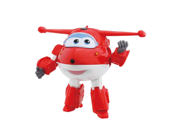Super Wings Говорящий Трансформер Джетт, YW710310