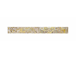Декор настенный Patchwork beige border 01, 6000*65, Gracia Ceramica