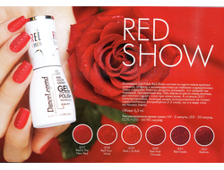GEL POLISH - RED SHOW