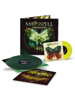 MOONSPELL - THE BUTTERFLY EFFECT LP+7""