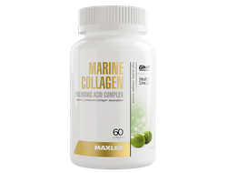 (Maxler) Marine Collagen + Hyaluronic Acid complex - (60 капс)