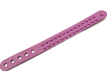 Bracelet, Dots 2 Studs Wide, Medium Lavender (66821)