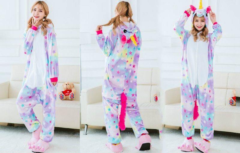 Пижамы - Кигуруми Радужный единорог 23eaea5266328