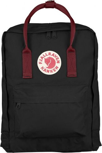 Рюкзак Fjallraven Kanken Black OX/RED (Mini)