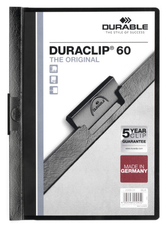 Папка с клипом А4 Durable Duraclip® 60, Retail Pack, 2238