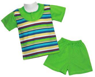 Комплект для мальчика (Артикул 299-013) цвет зелёный