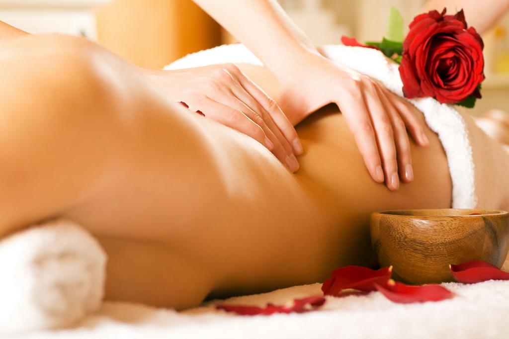 Девушка массаж фото