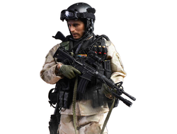 Военный спецназа США - Коллекционная фигурка 1/12 scale US Miliary Special Force – (ASOC) Army Special Operations Command in 1993 (LW002) - CrazyFigure