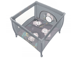 Манеж Baby Design Play Up 2020 07 Light Grey