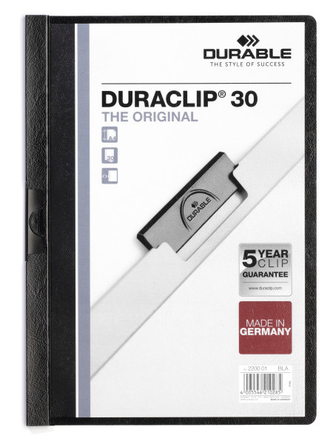 Папка с клипом А4 Durable Duraclip® 30, Retail Pack, 2227