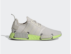 Adidas NMD R1 Gray/Green серо-зеленые