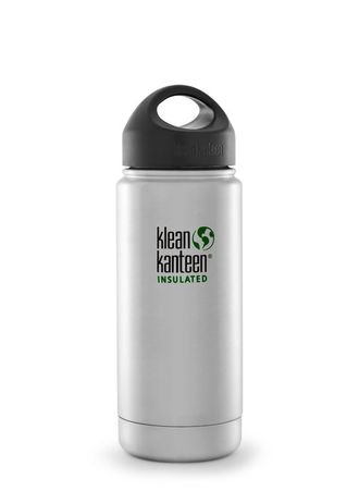 Термобутылка Klean Kanteen VACUUM INSULATED 473 мл (16oz) Brushed Stainless