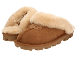 Slippers Coquette - Chestnut