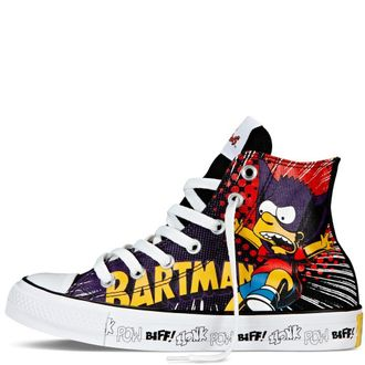 Кеды Converse Chuck Taylor All Star The Simpsons высокие