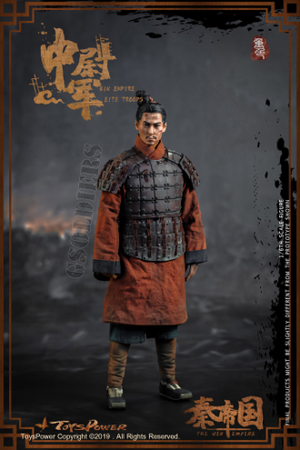 Терракотовый воин ФИГУРКА 1/6 scale Troops of Qin Empire (Terra-cotta Warriors) (CT012-D) Toyspower