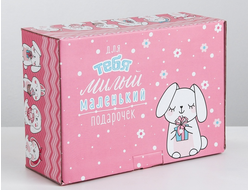 "Коробка-сюрприз ""Soff&Elli Box Pink Rabbit"""