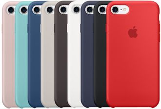 Silicon case iPhone 7/8
