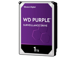 ЖЕСТКИЙ ДИСК HDD 1TB WESTERN DIGITAL PURPLE SATA 6GB/S 5400RPM