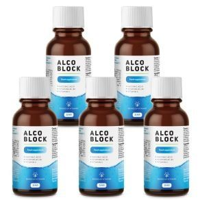 Alco Block biologically active dietary supplement (5 pieces)
