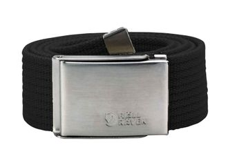 Fjallraven Canvas Belt Black (550)