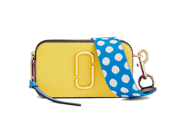 Marc Jacobs Snapshot Small Camera Bag LEMON MULTI
