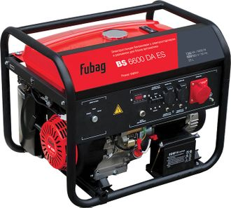 Электростанция бензиновая Fubag BS 6600 DА ES