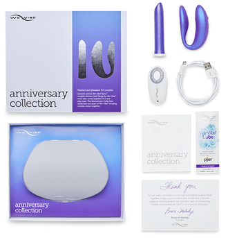 WE-VIBE Anniversary Collection Набор Sync+Tango фиолетовый