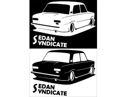 Наклейка Sedan Syndicate