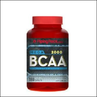 BCAA Piping Rock.com Mega BCAA 2000 180 tab