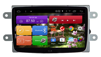 "Автомагнитола MegaZvuk Т8-7050 Renault Logan II (2014+) на Android  7.1.2 Octa-Core (8 ядер) 8"" Full Touch"