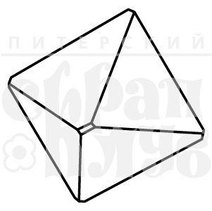 Штамп алмаз