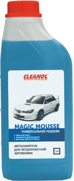 АВТОШАМПУНЬ MAGIC MOUSSE (1л) CLEANOL