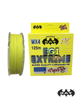 BAT EGI EXTRIME YELLOW 125m