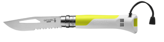 Нож Opinel №08 Outdoor Fluo Yellow
