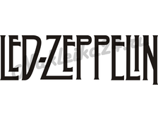 Наклейка на авто Led Zeppelin