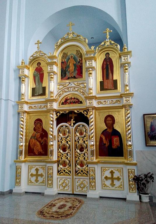 Купить церковный иконостас