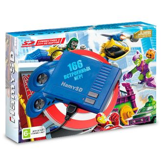 "Sega ""Hamy SD"" (166-in-1) Blue"