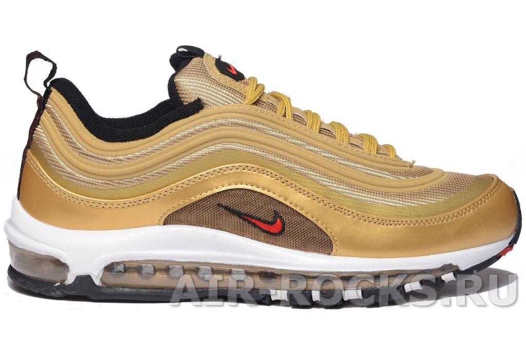 154ba384 Купить кроссовки Nike Air Max 97 Gold дешево | Интернет-магазин золотые  Найк Аир Макс 97 в Москве