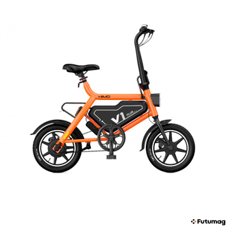Электровелосипед Xiaomi HIMO V1 Plus City Edition Electric Bicycle Белый